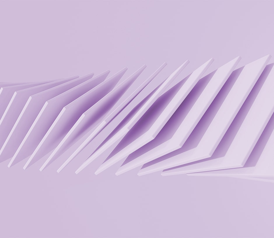 man falling purple squares on a purple background