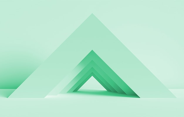 Green Triangles Image