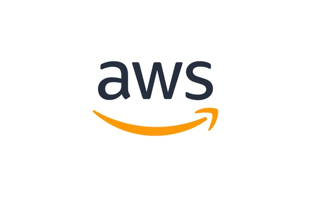 aws underlined with a smiling golden arrow