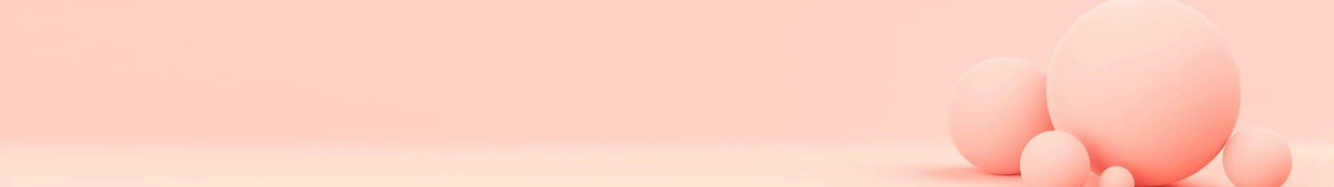 peach circles on peach background