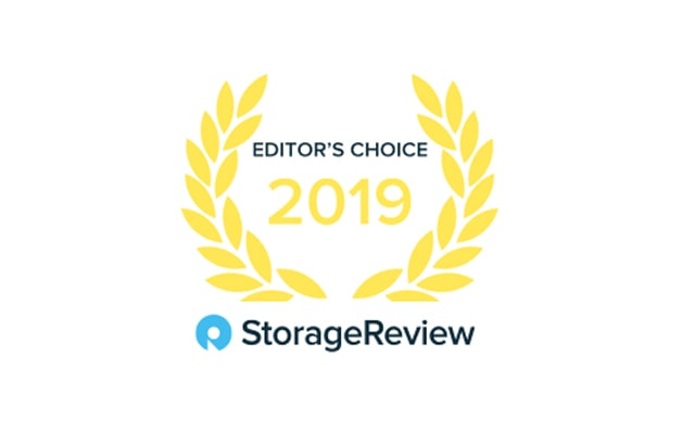 StorageReview Editor's Choice 2019 logo