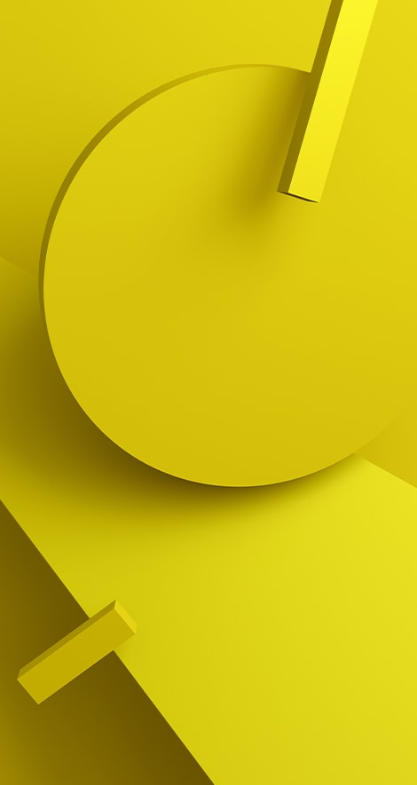 abstract yellow shapes on yellow background