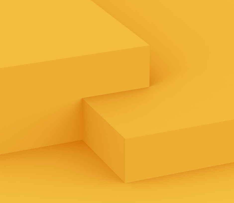 stacked yellow shapes
