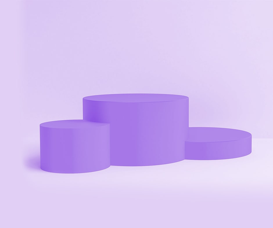 purple Cylinders
