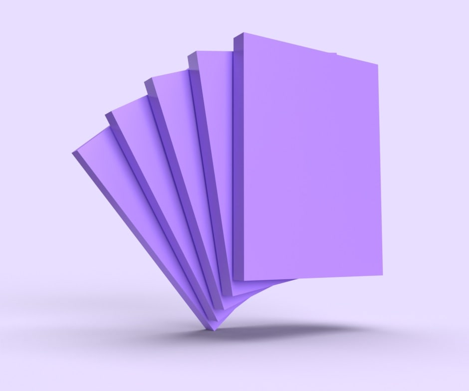 purple rectangles shuffling together in a purple enviroment